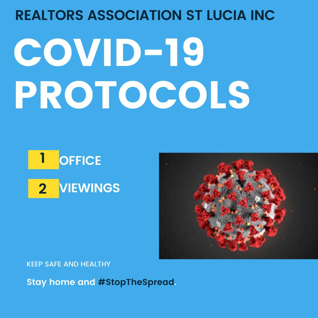 COVID 19 PROTOCOLS FOR REALTORS ST LUCIA